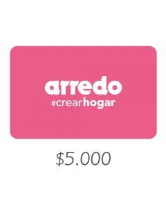 ARREDO - Gift Card Virtual $5000
