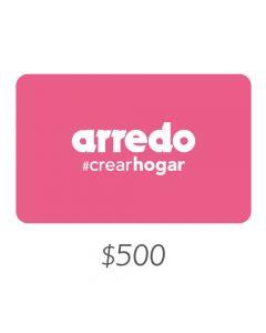ARREDO - Gift Card Virtual $500