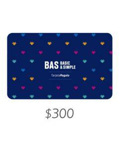 BAS - Gift Card Virtual $300