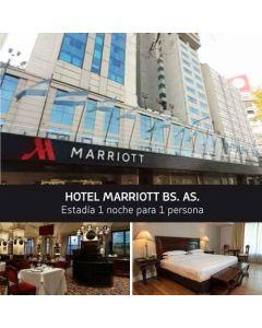 Buquebus - Paquete Montevideo - Buenos Aires. Hotel Marriott Bs. As - Para 1 Persona.