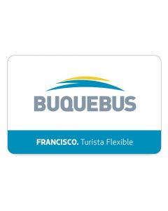 Buquebus - 1 Pasaje Ida Y Vuelta - Francisco Montevideo a Buenos Aires -turista Flex