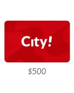 City - Gift Card Virtual $500