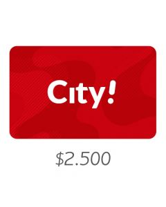 City - Gift Card Virtual $2500