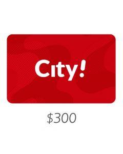 City - Gift Card Virtual $300