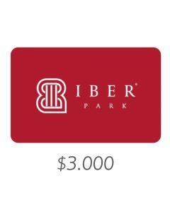 IBERPARK - Gift Card Virtual $3000