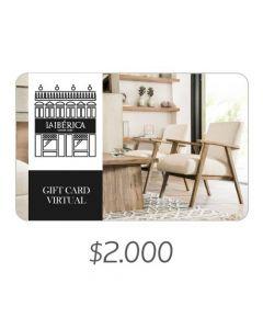 La Iberica - Gift Card Virtual $2000