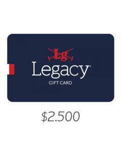 LEGACY - Gift Card Virtual $2500