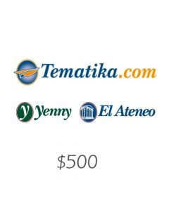 *Solo uso en Argentina* Yenny - Voucher $500