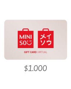 MINISO - Gift Card Virtual $1000