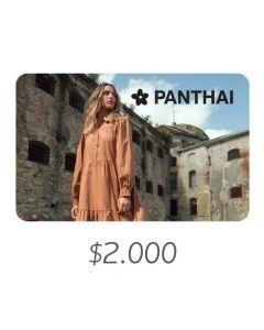 PANTHAI - Gift Card Virtual $2000